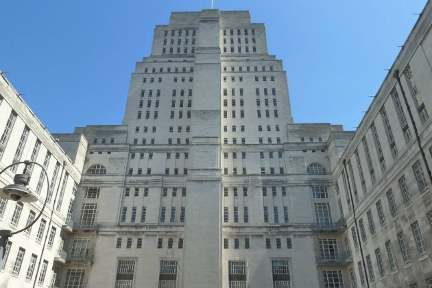 Senate House Abseil