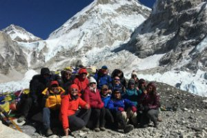 Alzheimer's Society Everest Base Camp Trek