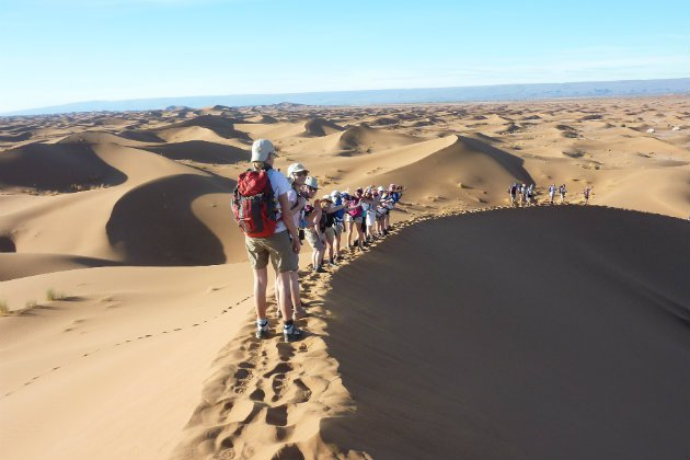 Fully supported trek through the Sahara